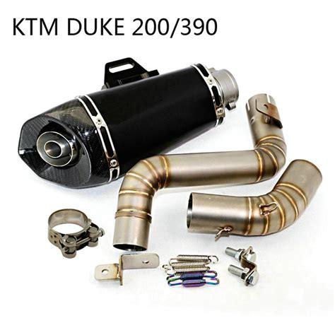 motorcycle exhaust pipe muffler modified motorbike exhaust ktm duke   akrapovic exhaust