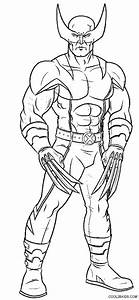 wolverine coloring pages - coloring pages for kids free images wolverine logan free