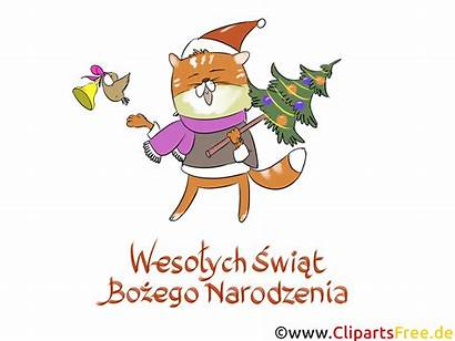 Clipart Polish Cliparts Cards Polskie Nouvel Wesolych