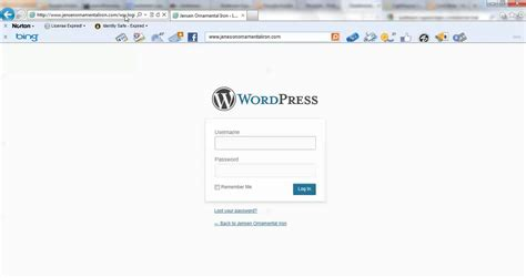 Login To Wordpress Admin Panel (wp-admin)