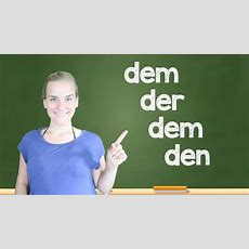 German Lesson (49)  The Dative Case  Part 1 The Indirect Object  Definite Articles A1a2
