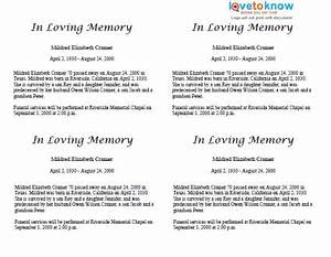 free obituary examples funeral home With funeral biography template