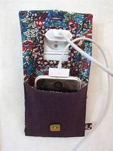 Pochette Téléphone Portable : tuto pochette chargeur de portable couture pinterest ~ Premium-room.com Idées de Décoration