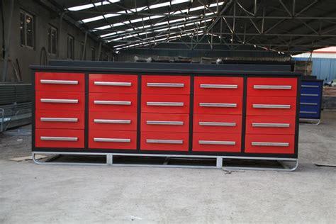 heavy duty metal garage  drawer workbenchworkshop
