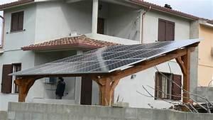 Cos'è la pergola fotovoltaica