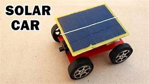 How to Make a Solar Powered Toy Car at Home - YouTube