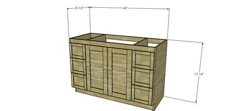 diy woodworking plans  build   bath vanity