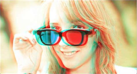 how to make classic cyan 3d photos out of any image