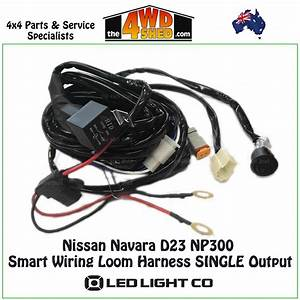 Nissan Navara D23 Np300 Smart Wiring Loom Harness Single