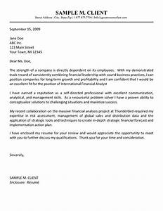 financial analyst cover letter example cover letter With strategy analyst cover letter