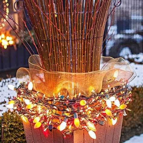 outdoor christmas lights ideas   yard decoration
