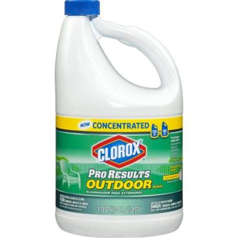clorox 120 proresults outdoor concentrated and