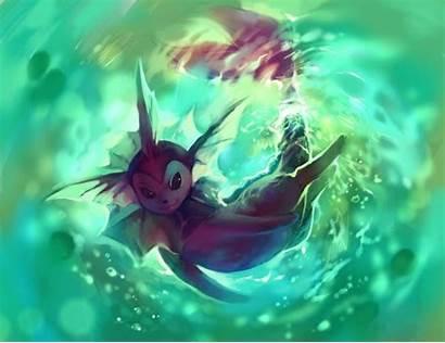 Pokemon Vaporeon Shiny Eevee Eeveelution Eeveelutions Deviantart