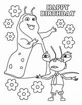 Coloring Beat Bugs Birthday Fresh Band Printable Cartoon Arthur Jay Buzz Pinkalicious sketch template