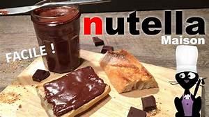 Nutella Maison Recette : comment faire du nutella maison recette facile youtube ~ Nature-et-papiers.com Idées de Décoration