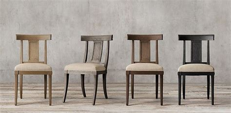 klismos restoration hardware ffe chairs