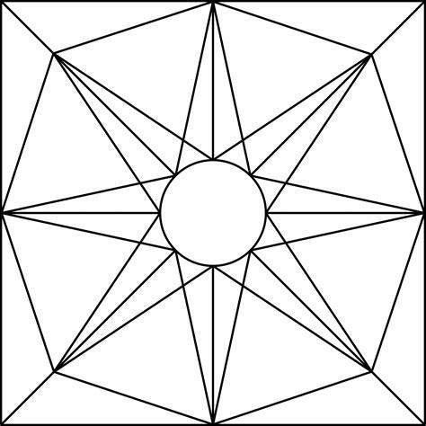 geometric designs to color geometric block pattern 71 clipart etc