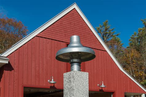 Classic Barn Lighting For A Modern Farmhouse Home In Maine