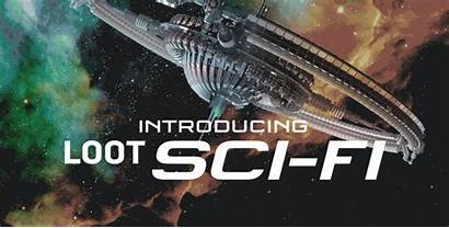 Sci Fi Crate Loot Theme Subscription Spoilers