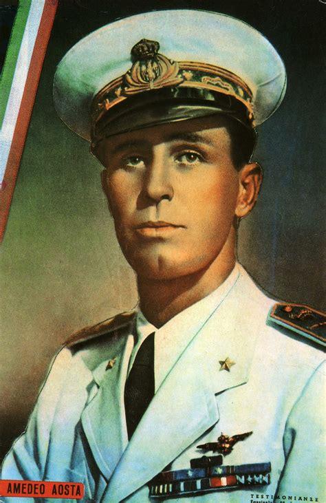 Se fossi diventato re, non mi sarei divertito tanto» così il duca — morto a 77 anni — si raccontava nel 2016: Amedeo di Savoia-Aosta (1898-1942) - Wikipedia