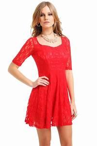 Röd klänning jul