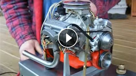 worlds smallest chevy   engine   runs