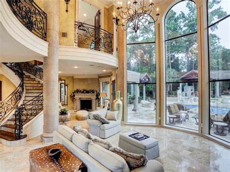Stunning Mediterraneanstyle Home In Houston, Texas
