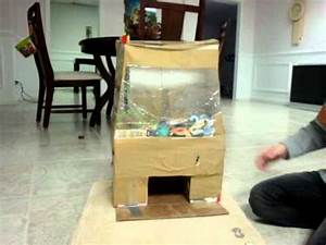 homemade claw game - YouTube