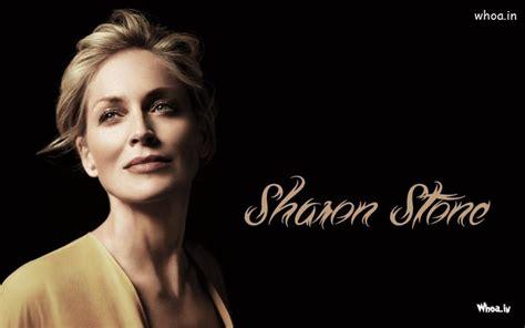 sharon stone face close  wallpaper hd