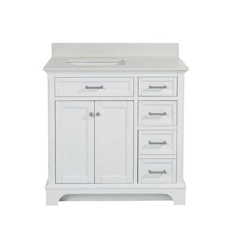 allen roth roveland white undermount single sink birch