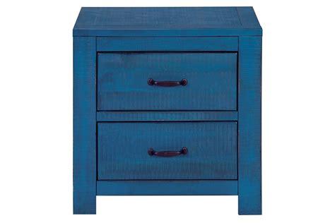 Blue Nightstand by Blue Nightstand At Gardner White