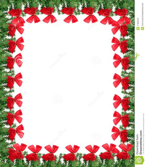 christmas greeting card border stock photography image