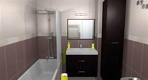 carrelage couleur taupe free quelle peinture pour le With carrelage adhesif salle de bain avec meuble tv design avec led