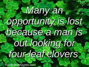 A Quote About Life for St Patrick's Day ...