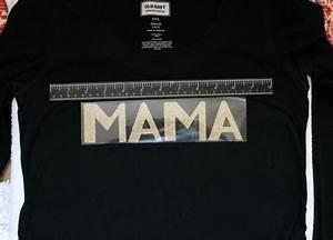 diy mama bear shirt with cricut glitter iron on vinyl With diy vinyl lettering for shirts