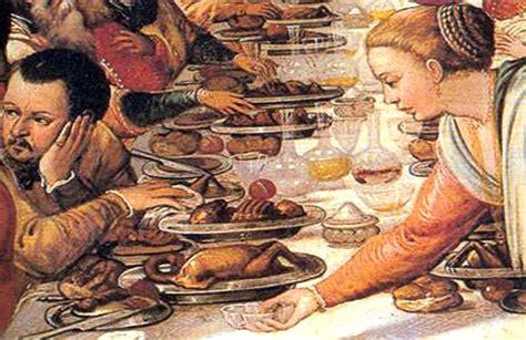 Banchetti Rinascimentali by A Tavola Con I Medici Cult Eno Gastronomico