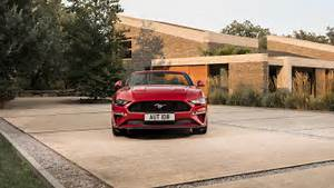 2018, Ford, Mustang, Convertible, 4k, 5, Wallpaper