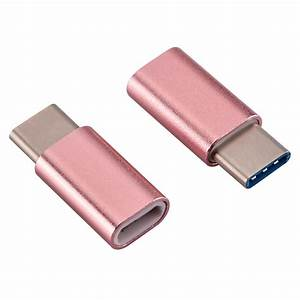 Adapter Micro Usb Type C : alloy micro usb to usb type c adapter converter data ~ Kayakingforconservation.com Haus und Dekorationen