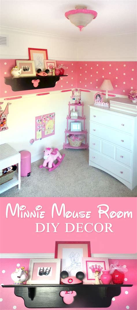 Minnie Mouse Room Decorating Ideas - 25 best minnie mouse room decor ideas on
