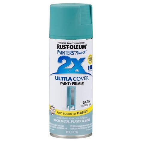 paint teal spray rust oleum satin touch rustoleum 2x painter oz primer zoom depot case save