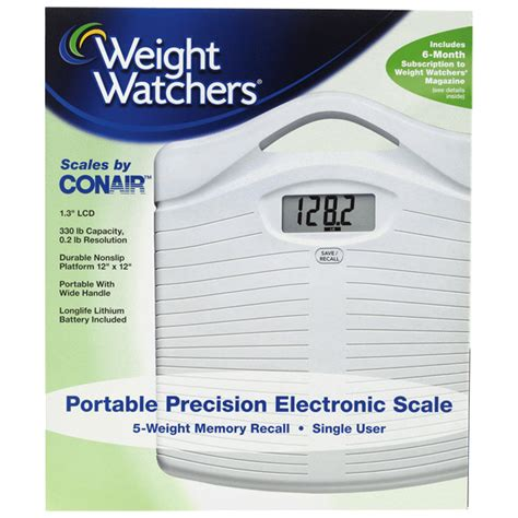 weight watchers by conair precision electronic scale meijer
