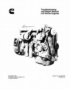 Cummins L10 Troubleshooting And Repair Manual Pdf Download