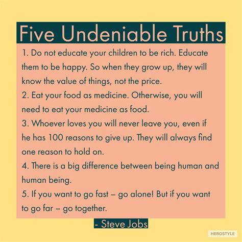 undeniable truths herostyle
