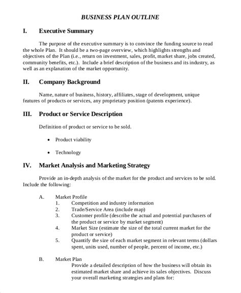 Below are some of the common and key parts of a business plan. FREE 10+ Executive Summary Samples  Project, Business Plan, Proposal