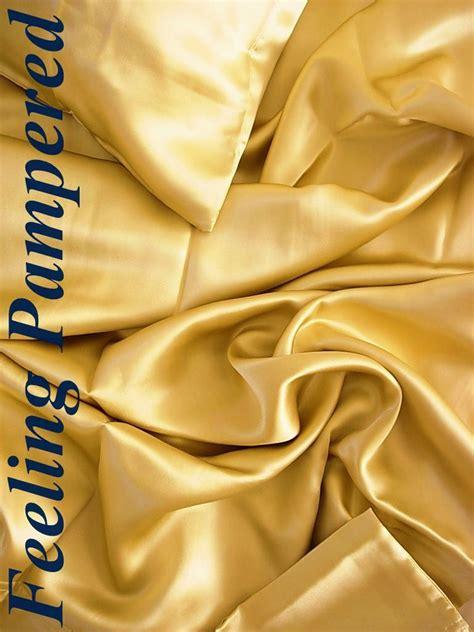 4 pc 100 mulberry silk charmeuse sheet gold by