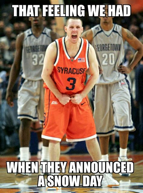 Syracuse Meme - syracuse memes on twitter quot oh to be young again and have a snow day orangenation http t co