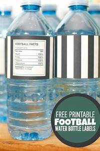 game day ideas lil39 luna With football water bottle labels