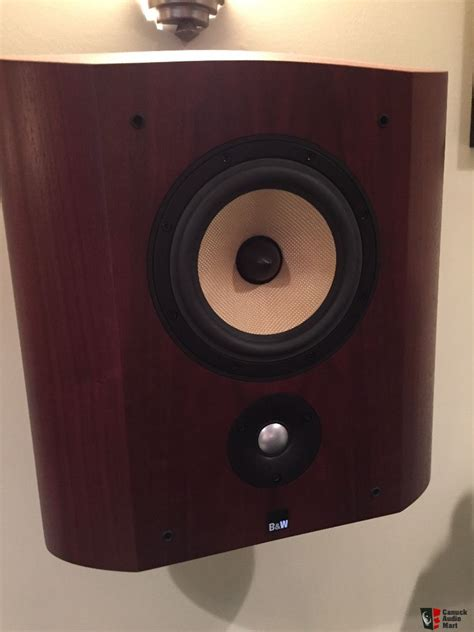 surround speaker wall mount b w scms wall mount surround speakers in rosenut photo 5950