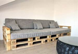 Fabriquer Un Banc D Interieur : banc palette inspirations originales pour fabriquer un meuble confortable ~ Melissatoandfro.com Idées de Décoration