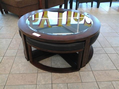 Marion Coffee Table With Stools  Coffee Table Design Ideas